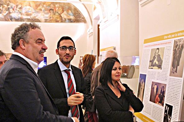 Sindaco di Velletri Orlando Pocci, dott. Rocco Della Corte, Ass. Romina Trenta all'inaugurazione